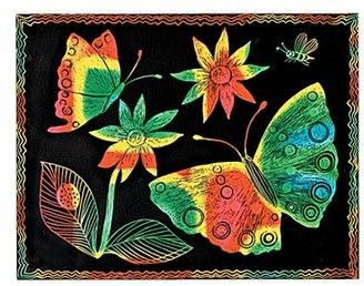 Toddler Melissa & Doug Scratch Art Paper $32 thestylecure.com