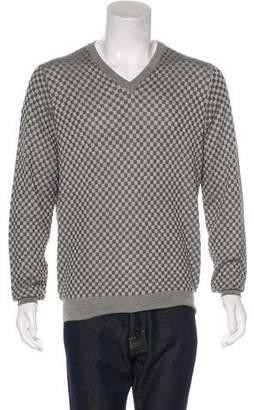 Louis Vuitton Silk Damier Sweater