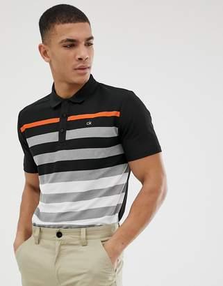 Calvin Klein Golf Velocity polo in black