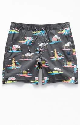 "Party Pants Coachella 16"" Swim Trunks"
