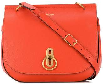 Mulberry Amberley small grain satchel bag