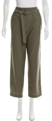 Brunello Cucinelli High-Rise Straight-Leg Pants w/ Tags