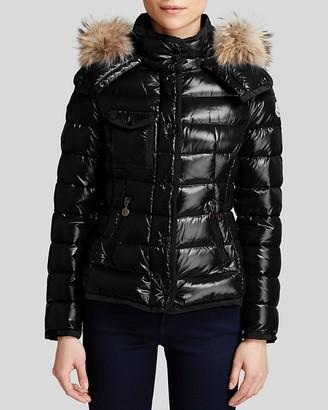 Moncler Coat - Armoise Fur Trim $1,895 thestylecure.com