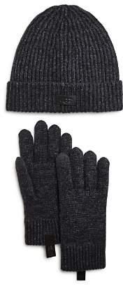 UGG Ribbed Hat & Smart Glove Gift Set