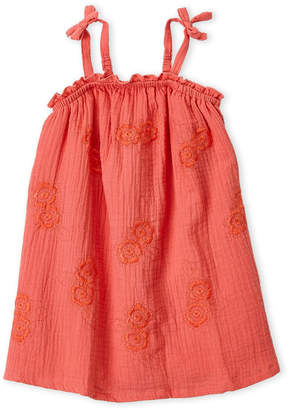 Lucky Brand Toddler Girls) Embroidered Tank Dress