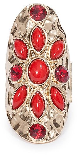 GUESS by Marciano Cassie Shield Ring