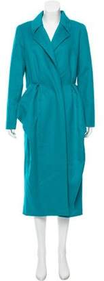 Oscar de la Renta Orylag Wool-Blend Coat