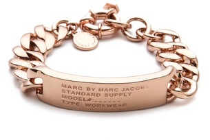 Marc by Marc Jacobs Standard Supply ID Bracelet