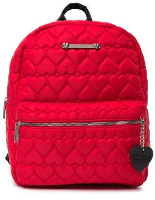 Betsey Johnson Heart Quilt School Backpack
