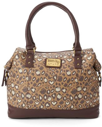 Hello Kitty® Leopard Dome Satchel $48 thestylecure.com