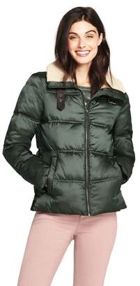 Lands' End - Green Thermoplume Insulated Aviator Jacket