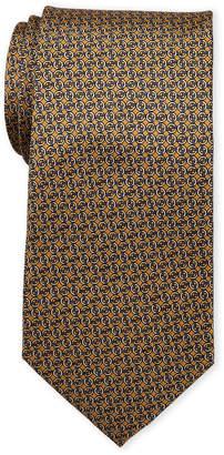 Pierre Cardin Chain Print Silk Tie