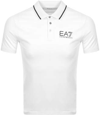 Emporio Armani EA7 Core ID Polo T Shirt White