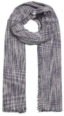 MANGO Organic cotton scarf