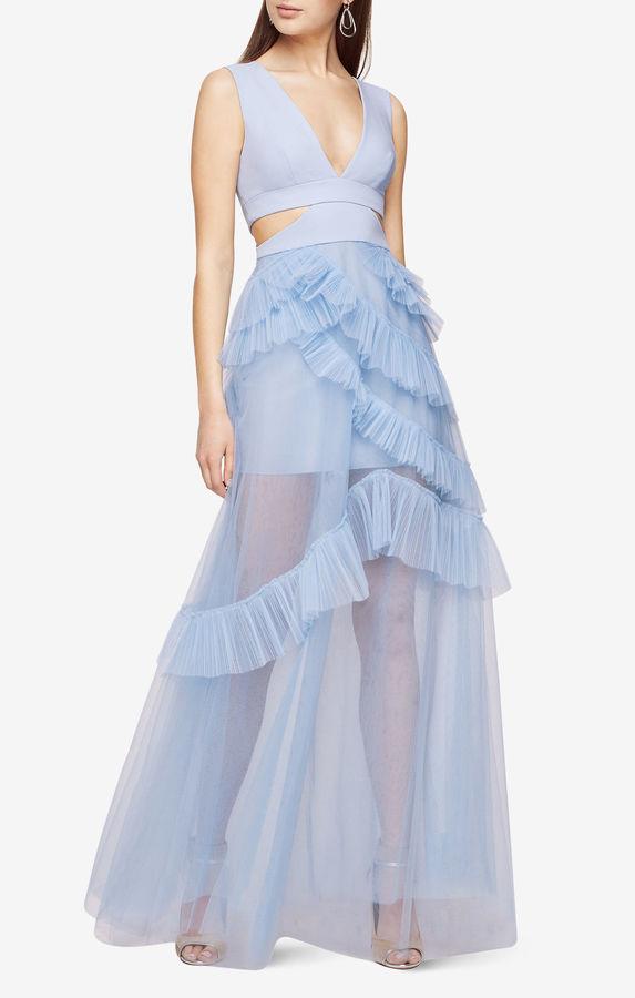 BCBGMAXAZRIAJoela Pleated Tulle Gown