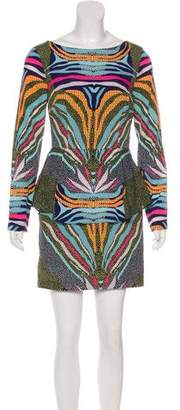 Mara Hoffman Abstract Print Mini Dress