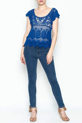 Made on Earth Lace Top