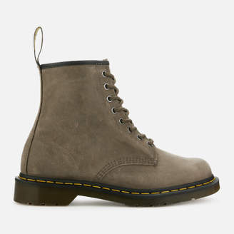 3bfb1edac6b Dr. Martens Men s 1460 Dusky Leather 8-Eye Boots - Olive