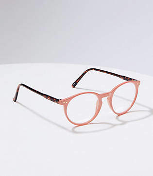 LOFT Keyhole Round Reading Glasses