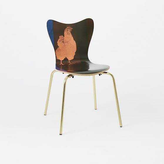Rauschenberg® Scoop Back Dining Chair