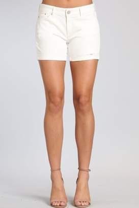 Mavi Jeans White Denim Short