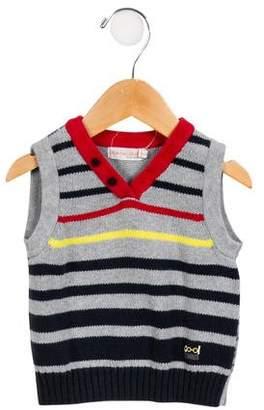 Deux Par Deux Boys' Sweater Vest
