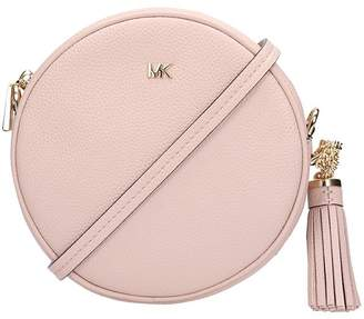 d3b61e2144ba1f Michael Kors Pink Leather Crossbody Handbags - ShopStyle