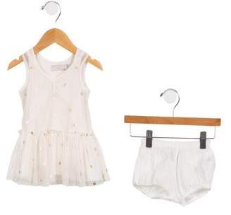 Stella McCartney Girls' Polka Dot Dress and Bloomer Set