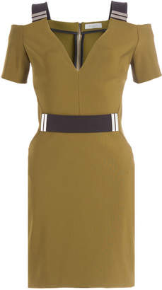 Thierry Mugler Dress with Cut-Out Shoulders