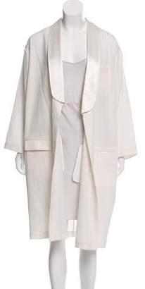 Givenchy Wool Long Coat