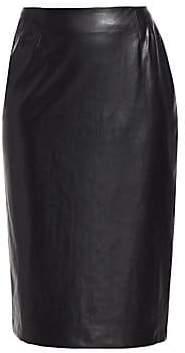 Marina Rinaldi Marina Rinaldi, Plus Size Marina Rinaldi, Plus Size Women's Stretch Faux Leather Pencil Skirt