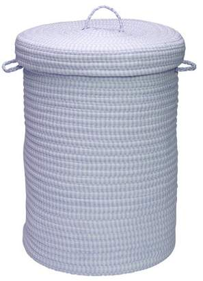 Colonial Mills Solid Ticking Storage Laundry Hamper