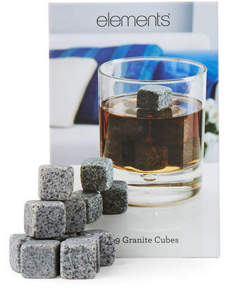 Element Set of 9 Granite Cubes