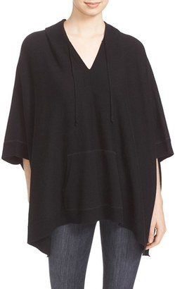 Women's Soft Joie Dhiana V-Neck Hooded Poncho Sweater $178 thestylecure.com