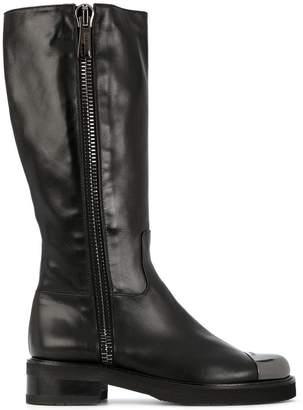Baldinini metal toe cap boots