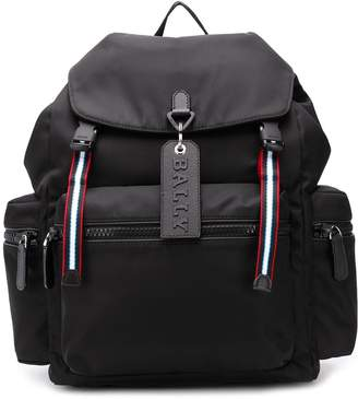 Bally top flap backpack