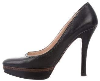 Prada High-Heel Platform Pumps