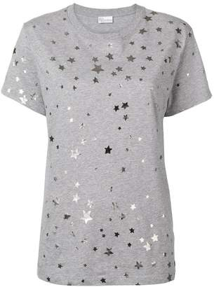 RED Valentino metallic star print T-shirt