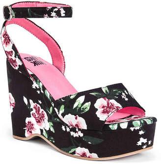 Muk Luks Elodie Wedge Sandal - Women's