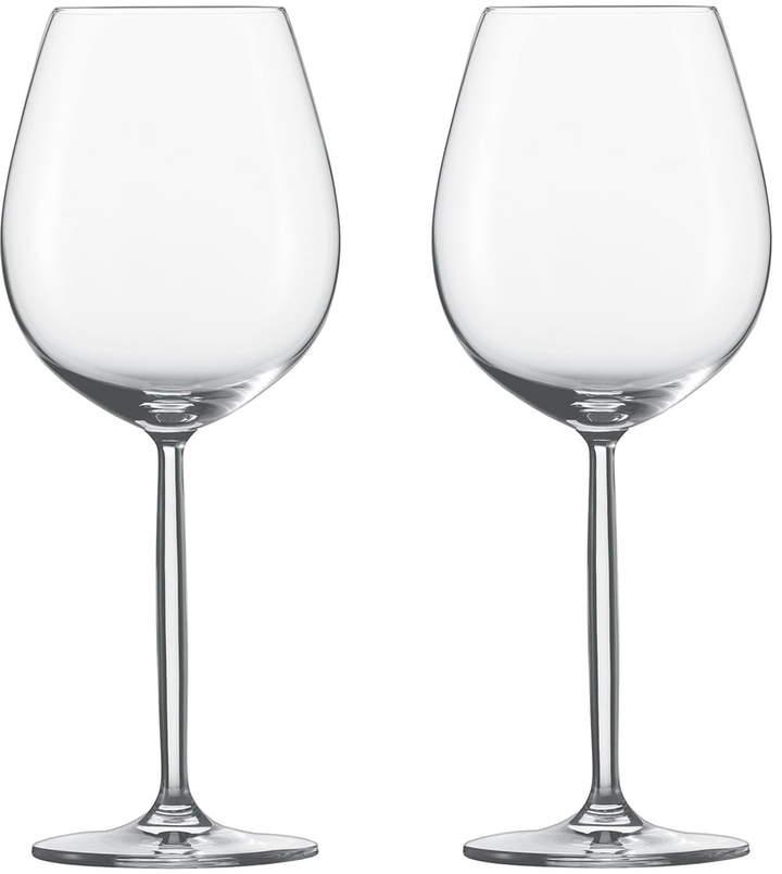 Zwiesel Kristallglas AG Diva Weinglas, Wasser / Rotwein (2er-Set)
