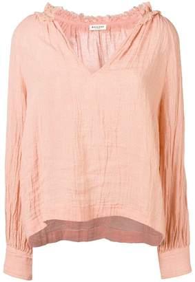 Masscob V-neck loose fit blouse