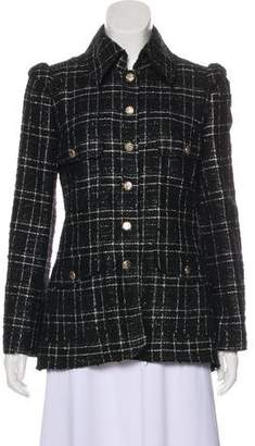 Chanel Tweed Metallic Jacket