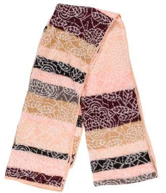 Missoni Knit Patterned Scarf