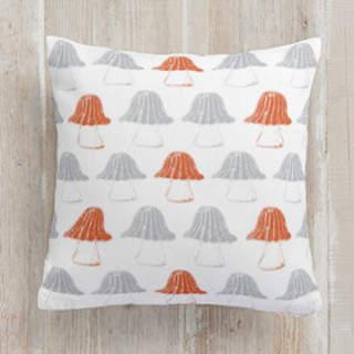Umbrella Top Truffles Self-Launch Square Pillows
