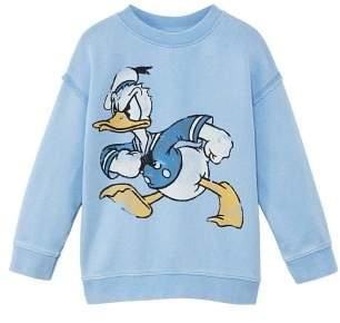 MANGO Donald Duck sweatshirt