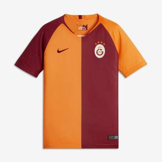 Nike 2018/19 Galatasaray S.K. Stadium Home Older Kids' Football Shirt