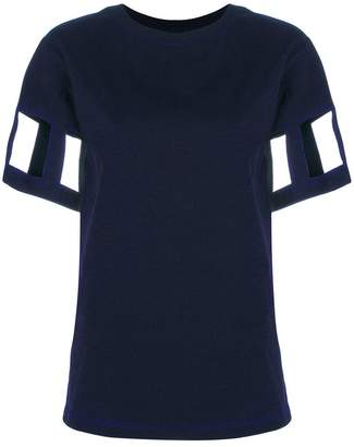 Maison Margiela cut out sleeve T-shirt