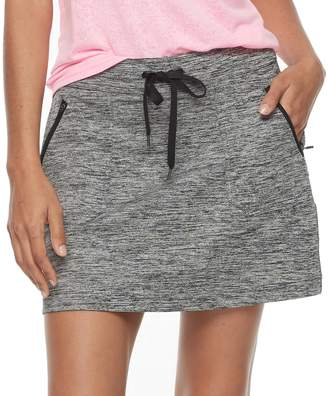 Tek Gear Women's Zipper Pocket Skort