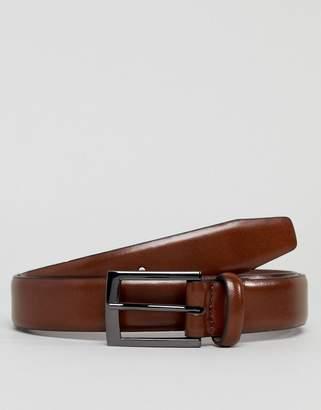 Burton Menswear belt in brown