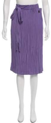Loewe Plisse Midi Skirt